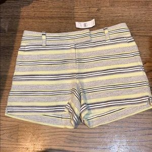 "The Loft Riviera 4"" Hem Shorts- Size 0. NWT!"